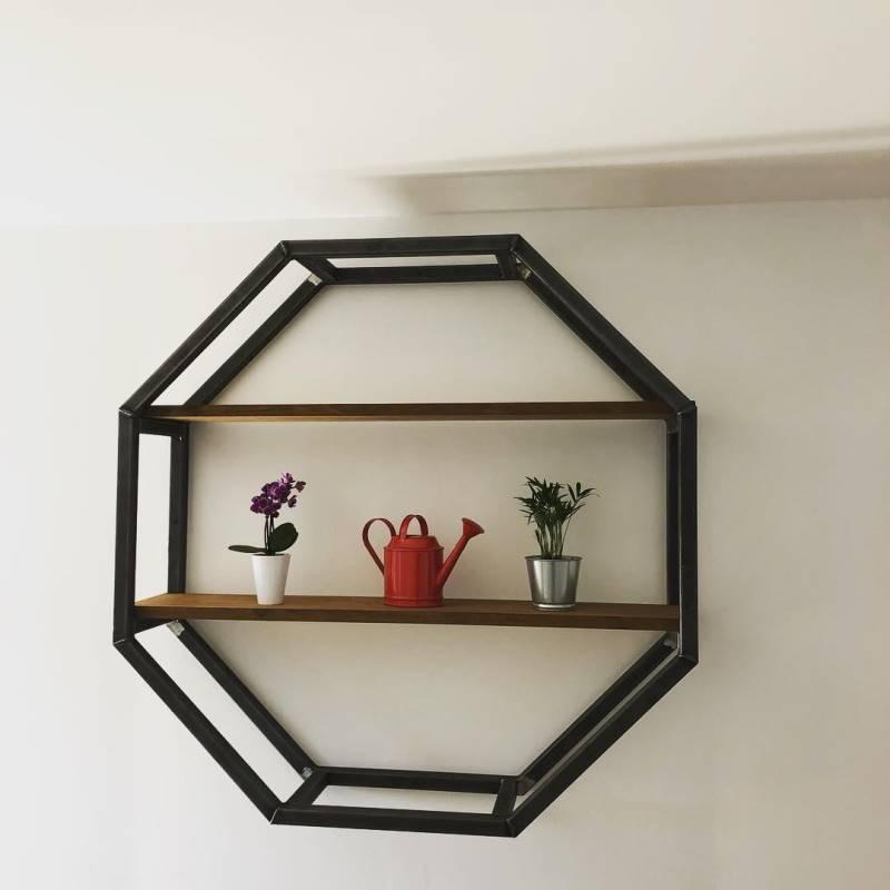 Etagere octogonale