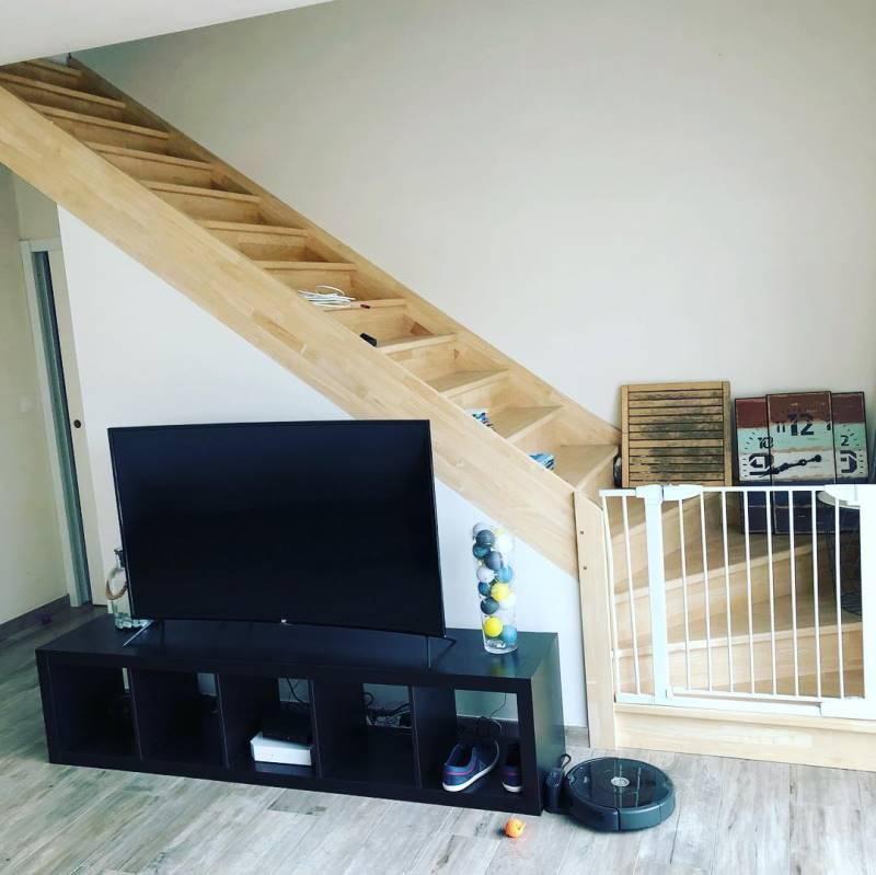 Verriere atelier escalier